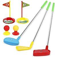 TeganPlay 儿童高尔夫球杆套装玩具,适合幼儿