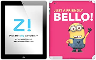 Zing Revolution Despicable Me 2 - Red Bello Tablet Cover Skin for iPad 4/3 (MS-DMT380351)