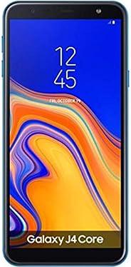 三星 Galaxy J4 Core 4G LTE 16GB J410F/DS 6 英寸(LTE At&t 非洲亚洲古巴数字)8MP 四核 1GB RAM 国际版无 CDMA - 无保修 蓝色
