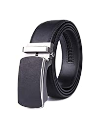 男士皮带真皮礼服腰带棘轮自动扣尺寸定制