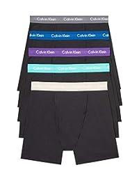 Calvin Klein Megapack 男士棉质弹性拳击手内裤多件装