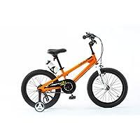 ROYALBABY 优贝 18寸儿童自行车表演车橙色5-9岁萌宝礼物(亚马逊自营商品, 由供应商配送)