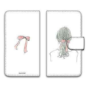 卡丽 壳 印刷手册 女孩子马尾 智能手机壳 手册式 对应全部机型 女の子ポニーテールE 21_ VAIO Phone Biz VPB0511S