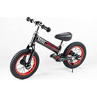 (买就送MINI护膝护肘)RASTAR 宝马MINI 儿童平衡车 宝宝滑行车 男女童车自行车无脚踏12寸 (午夜黑)
