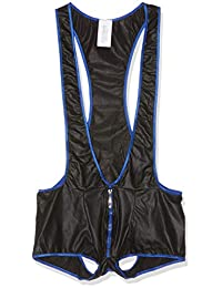 Svenjoyment 内衣 21502634721 男式摔跤鞋主体黑色-L 码,(Nero 001)