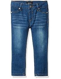 DKNY 女童 Jamie 卷袖牛仔裤