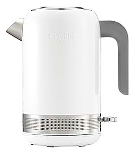 Breville VKJ944X 高亮度水壶/可拆卸、可清洗的石灰过滤/快速沸腾时间/1.7升/2400W/白色