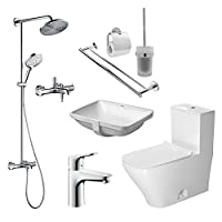 duravit 杜拉维特 德系卫浴整体套餐 高端德系卫浴整合套餐 升级款 CSTC006(亚马逊自营商品, 由供应商配送)