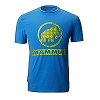 MAMMUT 猛犸象 男士 户外 凉爽 透气 创意印花 圆领 短袖 T恤 1017-00490