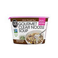 Crystal Noodle Non-GMO Long Noodle Soup, Mushrooms, Mushrooms, 1.83 Ounce (Pack of 6)
