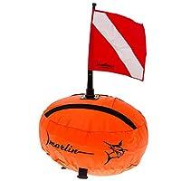 MARLIN 浮球椭圆橙色