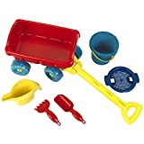 Theo Klein 2002 Aqua Action 手推车,带桶,套装,玩具