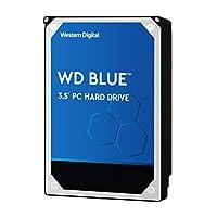 WD西部数据 Blue 6 TB 桌面硬盘驱动器-5400 RPM SATA 6 Gb/s 64 MB 缓存 3.5 英寸-WD60EZRZ