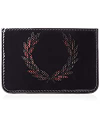 [FRED PERRY] 卡套 LAUREL WREATH LEATHER CARD CASE F19874