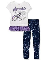 Hasbro 孩之宝 女童 短袖T恤 KFM8M1KTKG0204WW