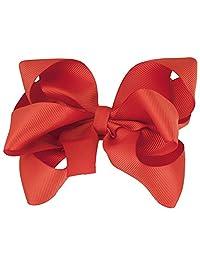 超大蝴蝶结夹适用于新生儿,婴儿头带 - 免费可更换头带
