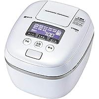 虎牌電飯煲 5.5合 壓力IH 熱流&熱封土鍋涂層 新鮮 都市白色 JPC-A102WE