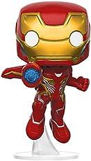 Funko Pop Marvel漫威:  复仇者无限战争-钢铁侠收藏模型,多色