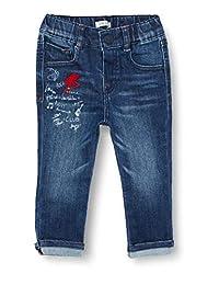 IKKS Junior 女婴 XR29001 裤子,蓝色,4 岁