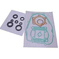 Solarhome 头部垫片套件 适用于雅马哈 Blaster YFS200 1988-2006 带油封石棉