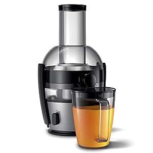 Philips 飞利浦 HR1867/21 Viva系列快速清洁榨汁机 拉丝铝材质