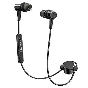 蓝牙耳机 Tronsmart 无线运动耳机蓝牙 4.1 运动耳塞 AptX 12 小时播放时间 IP56 防汗降噪磁耳机 带麦克风