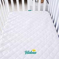 Bamboo 床垫 白色 crib cover