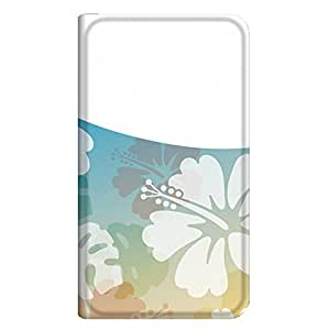 智能手机壳 手册式 对应全部机型 薄型印刷手册 cw-221top 套 手册 百合 超薄 轻量 UV印刷 壳WN-PR071316-MX ARROWS A 202F B款