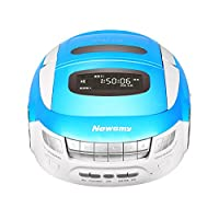 纽曼(Newsmy)DVD-M600 蓝色 便携遥控DVD多功能学习机 CD胎教机\录音机\复读机\磁带机\SD卡U盘Mp3播放机