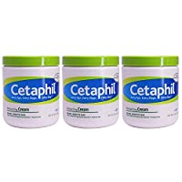 Cetaphil Moisturizing Cream for Dry Sensitive Skin 20 Ounce (Pack of 3)