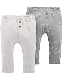 Carter's 卡特男婴2件装。 大象套穿裤