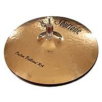 "Soultone Cymbals CBRRA-HHT10-10"" 定制 Brilliant RA Hi 帽子一对"