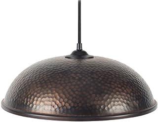 tosel 15179斋浦尔吊灯钢板移动/绘画环氧310 x 800毫米 Noir/Cuivre/Blanc 310 x 800 mm