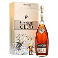 Rémy Martin 人头马 club干邑白兰地礼盒 700ml(法国进口)(亚马逊自营商品, 由供应商配送)