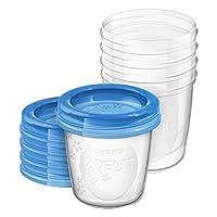 飞利浦 AVENT 新安怡 母乳 储存保鲜杯 储奶杯 180ml(产地:英国) SCF619/05(新老包装 随机发货)