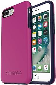 otterbox 对称系列保护套适用于 iphone 8PLUS & iphone 7Plus (仅 ) MIX BERRY JAM (BATON ROUGE/MARITIME BLUE) (un