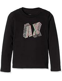 [阿玛尼 EXTIGIN ] 【女孩】多彩AX图形T恤 6ZGTAS/YJA8Z