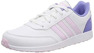 adidas Unisex Kids Vs Switch 2 Trainers, White (Footwear White/Aero Pink/Chalk Purple), 5.5 UK 38 2/3 EU