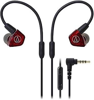 Audio-Technica ATH-LS200iS 入耳式双骨架驱动耳机 带内联麦克风和控制