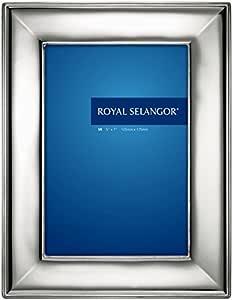 "Royal Selangor 013264R Madison Photoframe 锡色 5"" x 7"" 013265R"