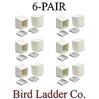Werner AC36-2(6 对)梯子支架/稳定器的橡胶端盖替换件
