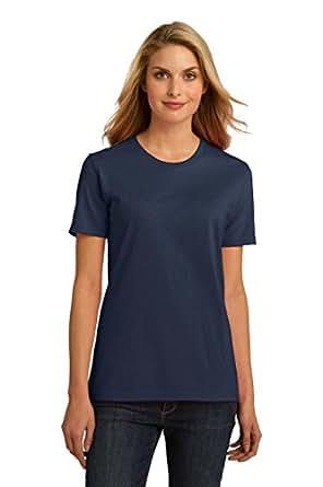 Port & Company Ladies Essential 100% Organic Ring Spun Cotton T-Shirt, XXL, Navy