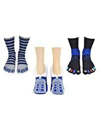 Doctor Who Socks 女士和女孩 - 神秘博士服装商品角色扮演 - 适合鞋码:4-10(女士)