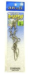 下田渔具 球轴承 带5连结一段锁 924-3401 5号