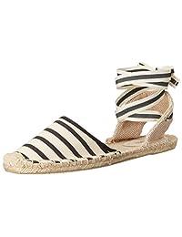 Soludos 女 渔夫鞋 Classic Sandal Stripe FSA1101