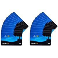 亚马逊礼品卡-多种面额-20张卡套装