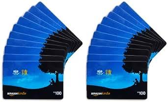 亚马逊礼品卡-套装20张-Kindle100RMB*20张