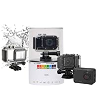 Activeon 全高清 1080p - WiFi 防水摄像头 - 带防水盒(零售包装)Activeon CX Black CX