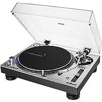 Audio-Technica 铁三角 AT-LP140XP 专业电唱机 带直驱 银色