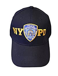 NYPD 棒球帽 NEW YORK POLICE department 字样*蓝 & Gold 均码